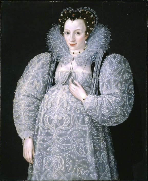 Gheeraerts the younger, Marcus, 1561/1562-1635/1636; Portrait of an Unknown Lady